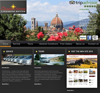 Chianti Drivers Website