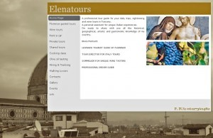 Elena Tours Website