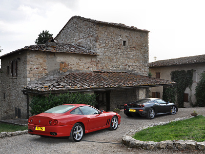 Ferraris at Ripertoli
