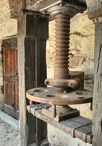 The Loggia with the old wine-press