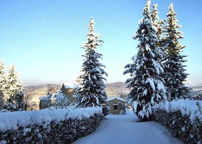 Ripertoli in the snow December 2009