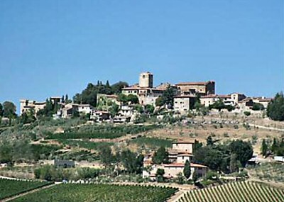 Panzano - old town & castle