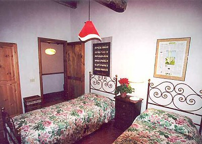 Bedroom 1 from the window
