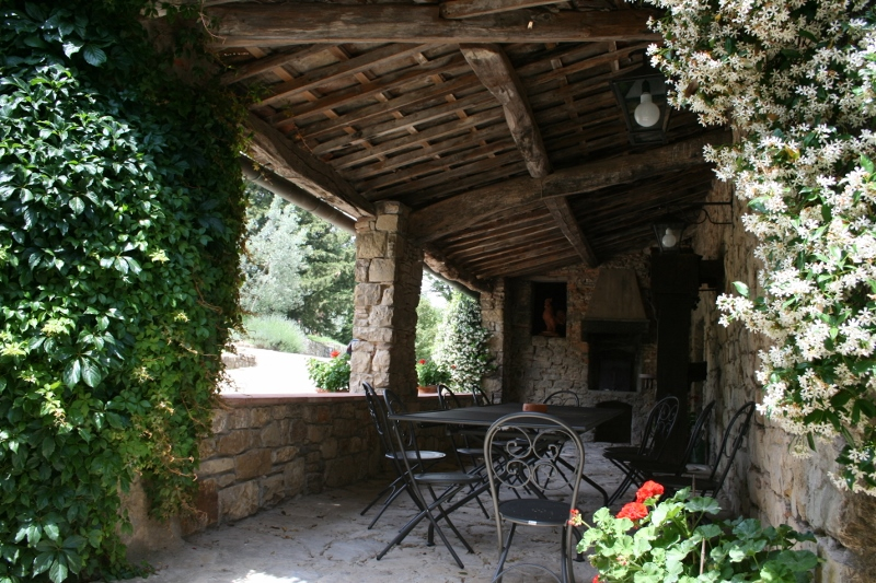The loggia