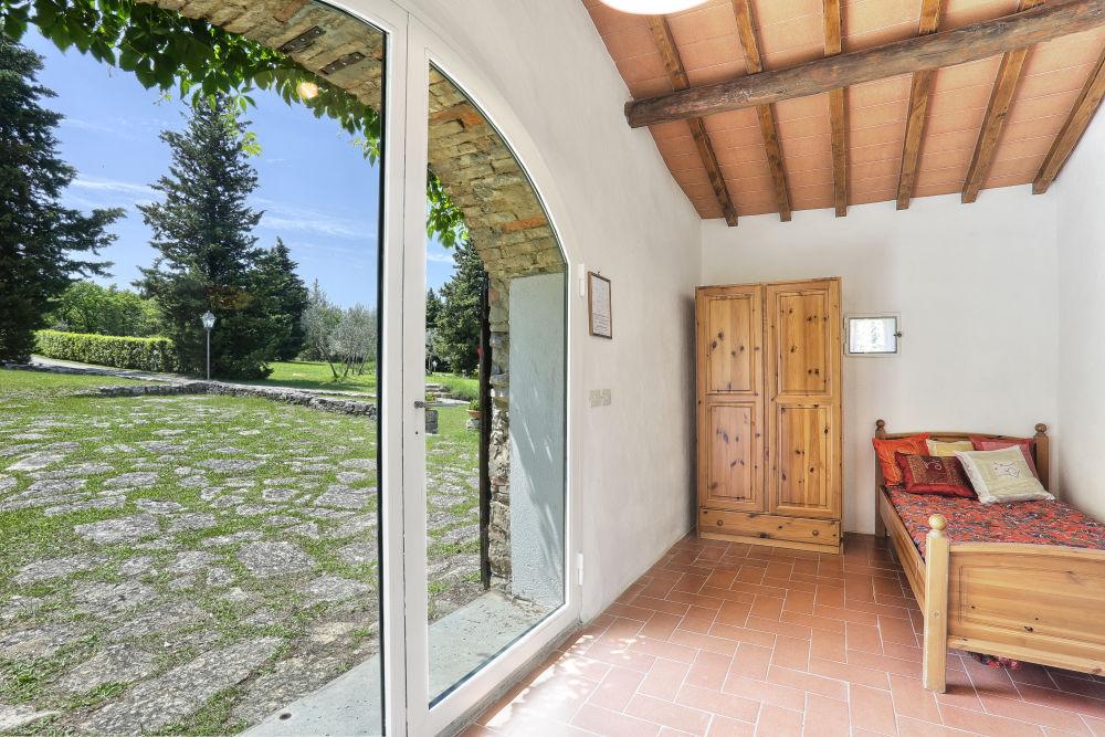 Aia Capanna sun room facing the old threshing floor
