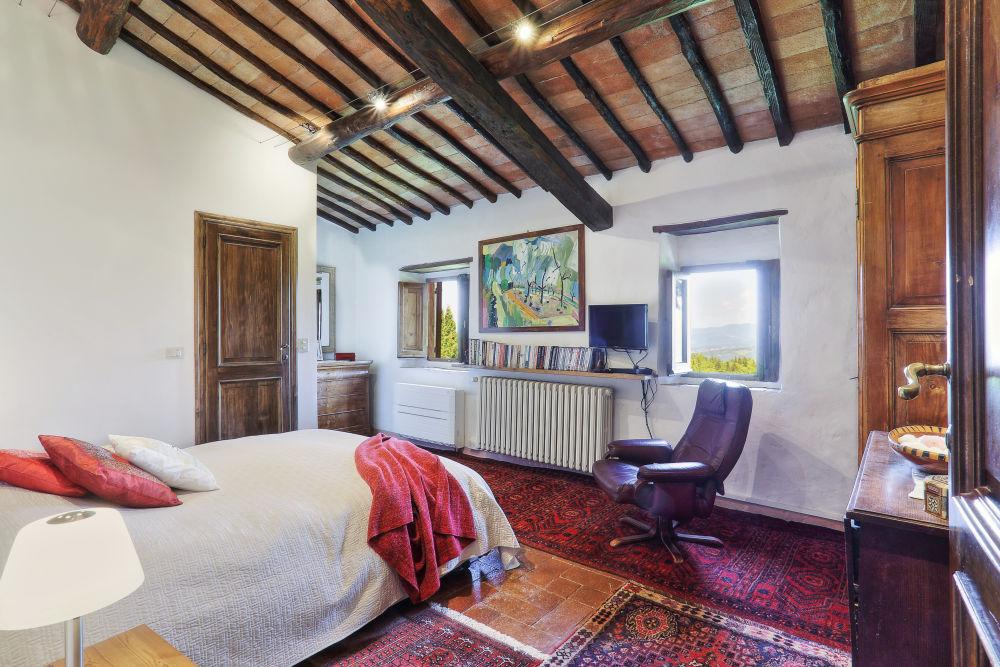 The Garden View bedroom